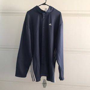 Mens Adidas Button Jacket